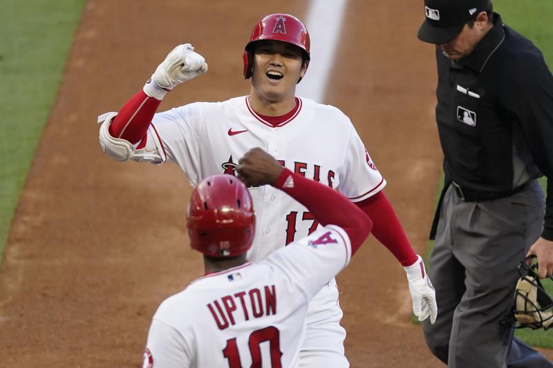 LA Angels' Hitter Shohei Ohtani Hits 470-foot Home Run in 8-1 Win Over Kansas City Royals
