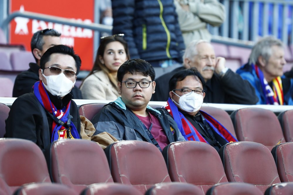 No fans will be allowed in stadium in Barcelona's Champions League match against Napoli because of the coronavirus outbreak, the club said Tuesday