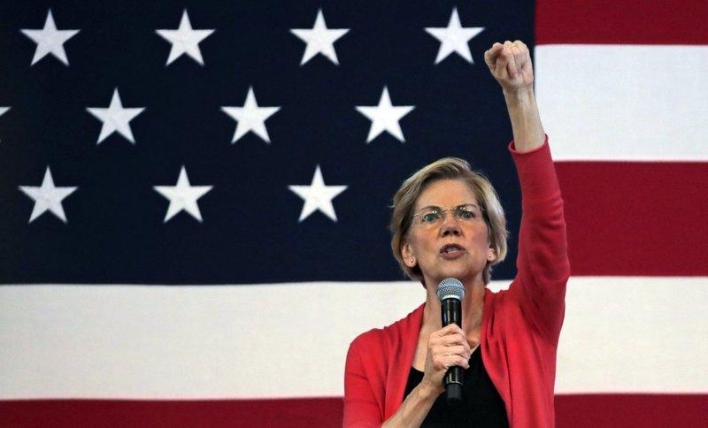 AP – Elizabeth Warren raises $19.1M, topping Bernie Sanders in new fundraising