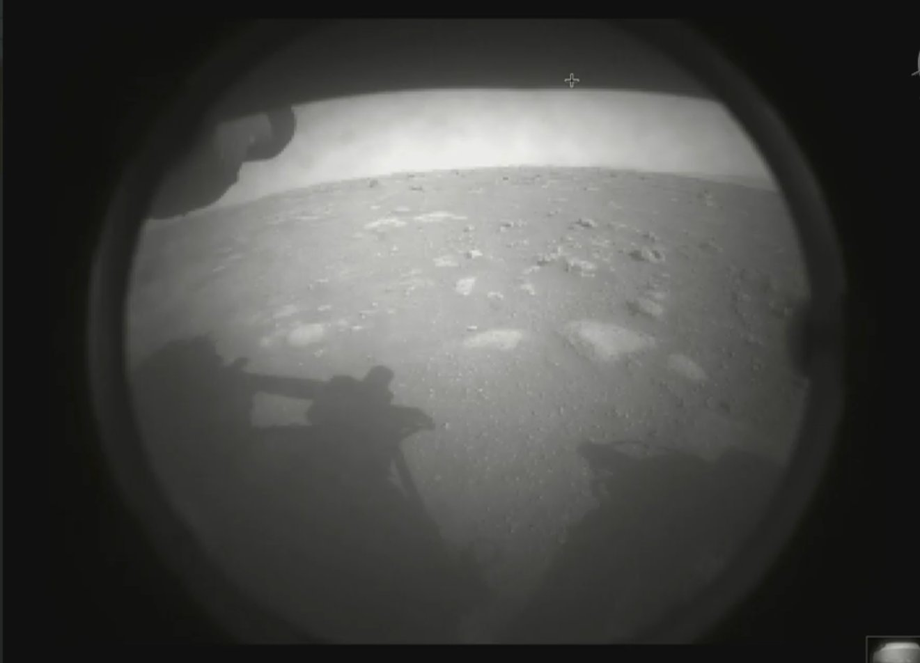 NASA rover successfully lands on Mars to look for signs of ancient life