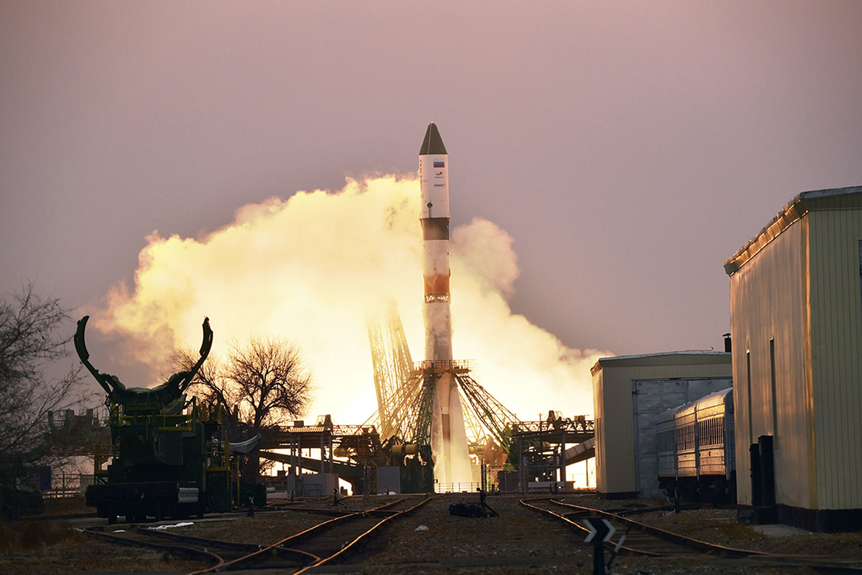 Russian cargo ship launched to International Space Station - Associated Press