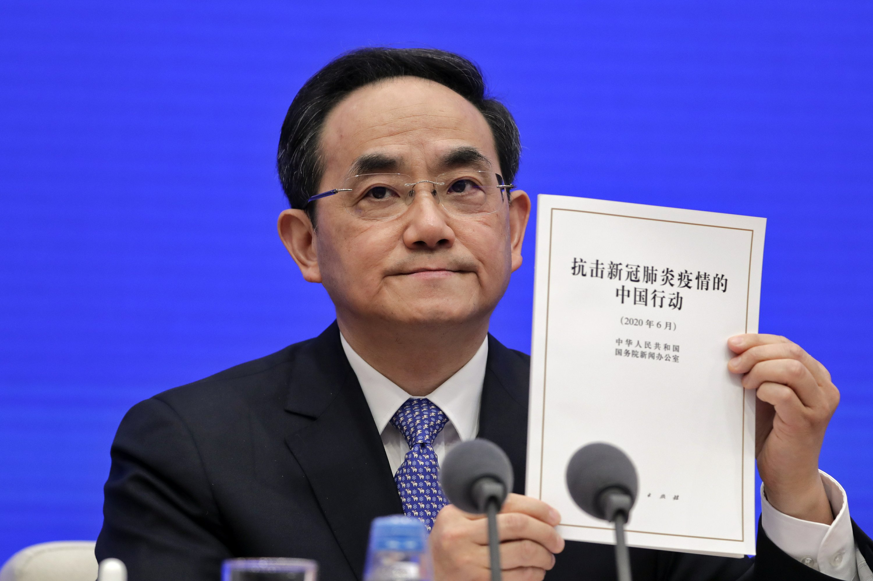 China defends COVID-19 response in new report thumbnail