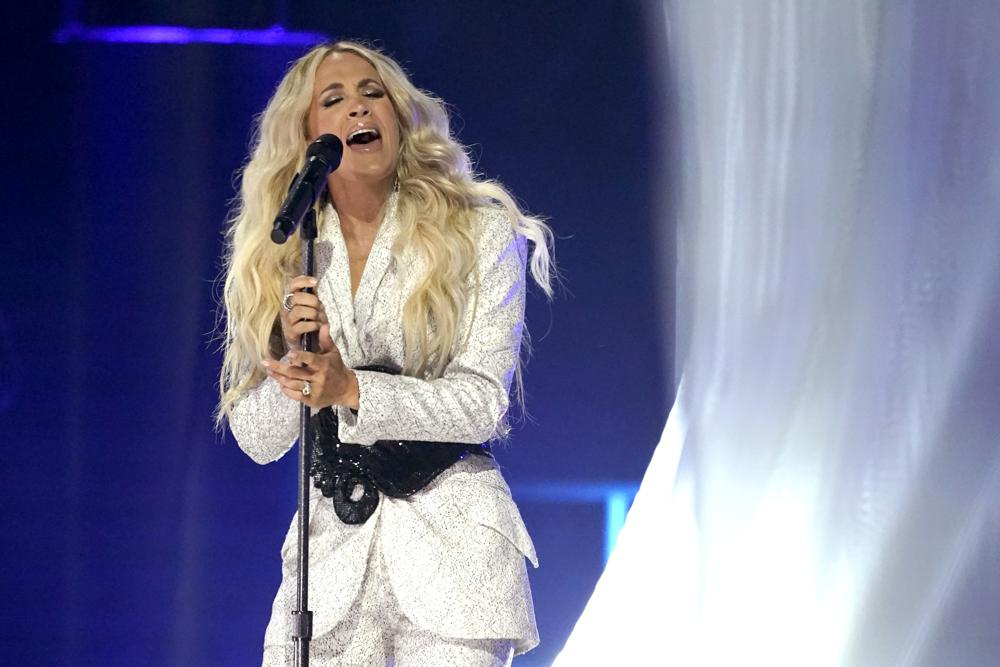 Carrie Underwood's Music Video Named Video of the Year