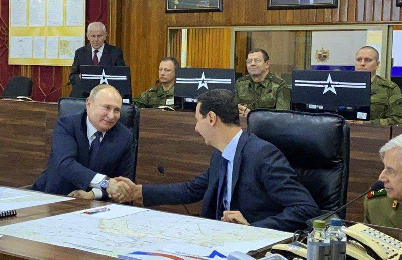 Russia S Putin Visits Syria To Meet Assad A Key Iran Ally