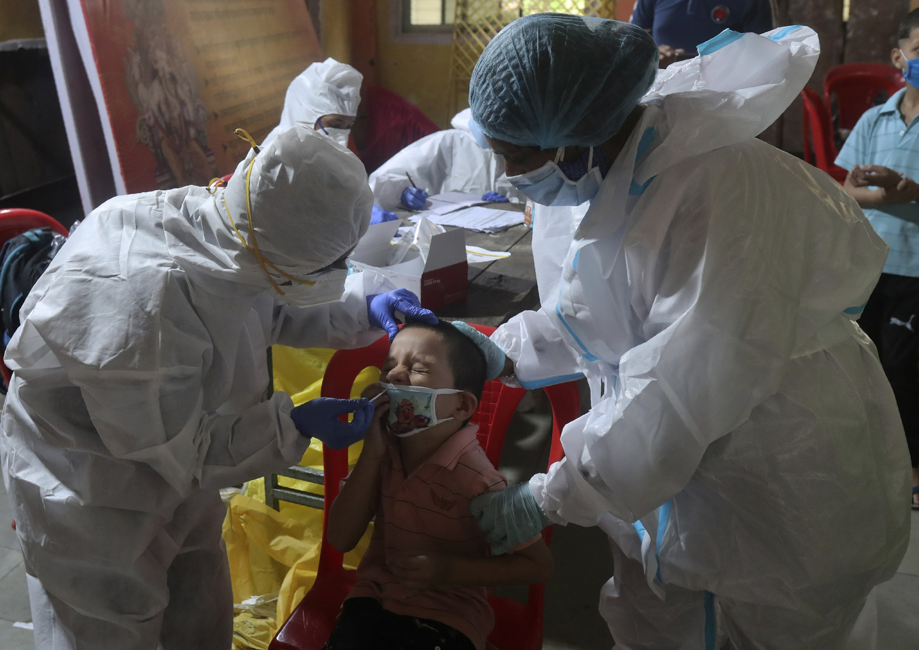 5M people infected, India's virus outbreak still soaring