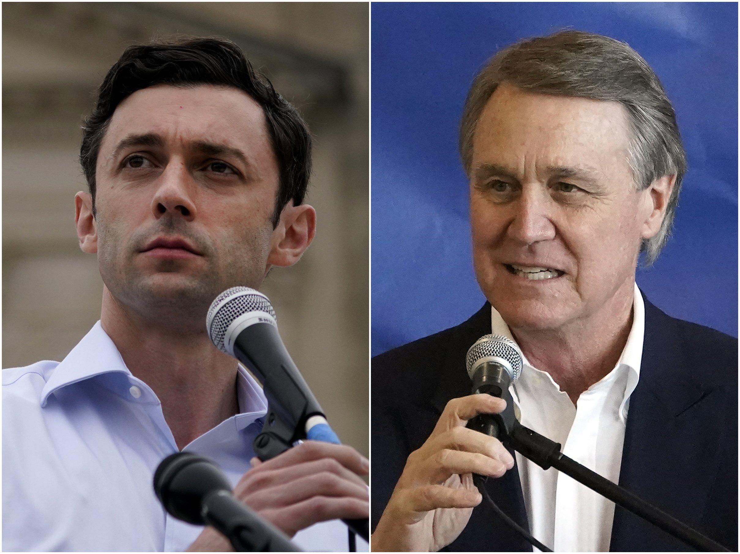 In Georgia, Trump's shadow looms over pair of Senate runoffs