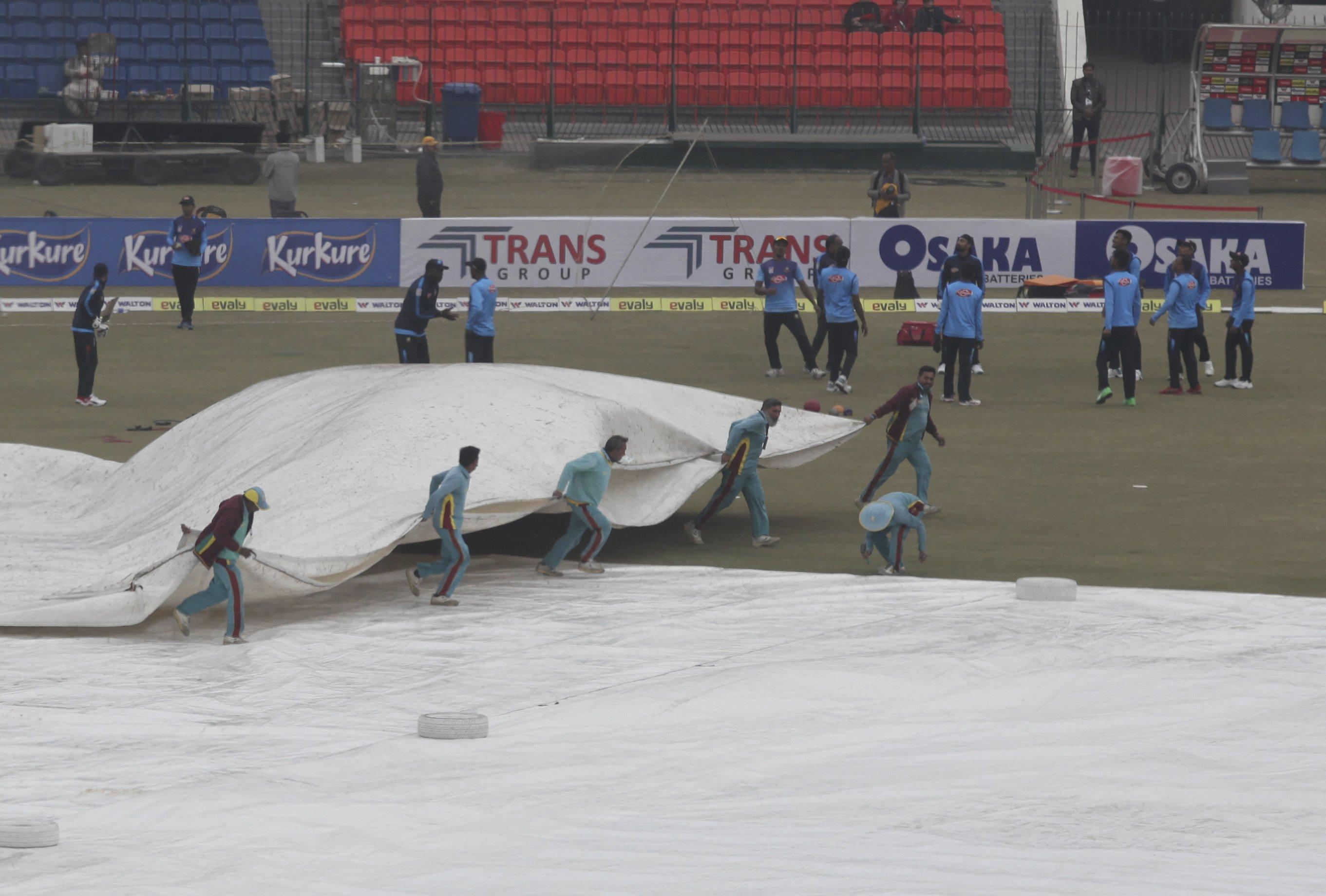 Pakistan retains top T20 ranking after washout vs Bangladesh