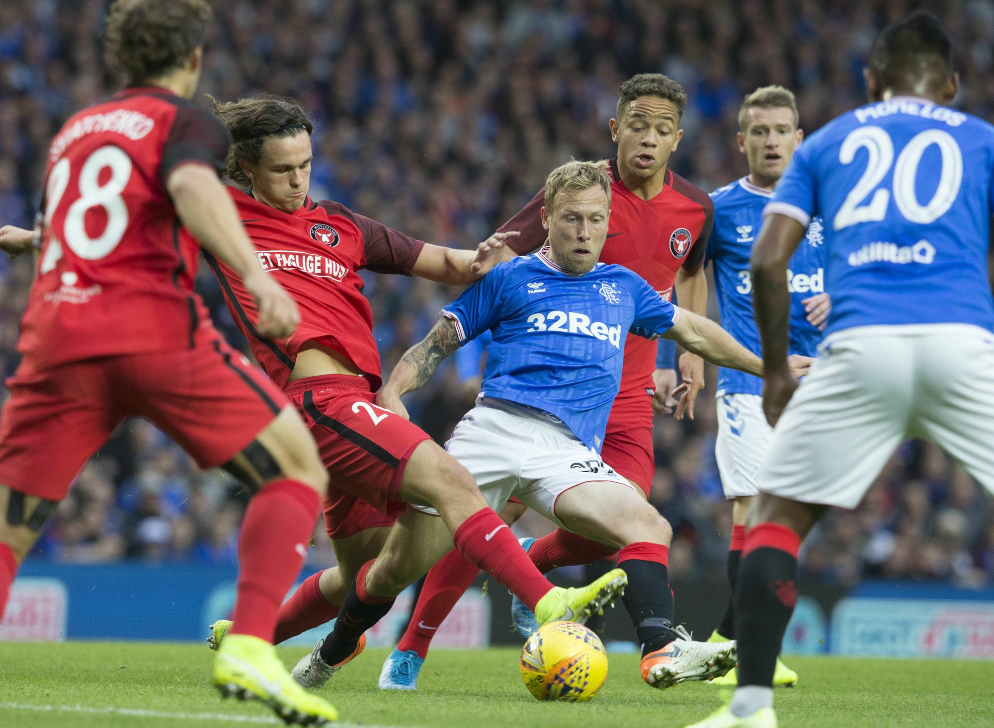 UEFA punishes Rangers for sectarian chants by fans
