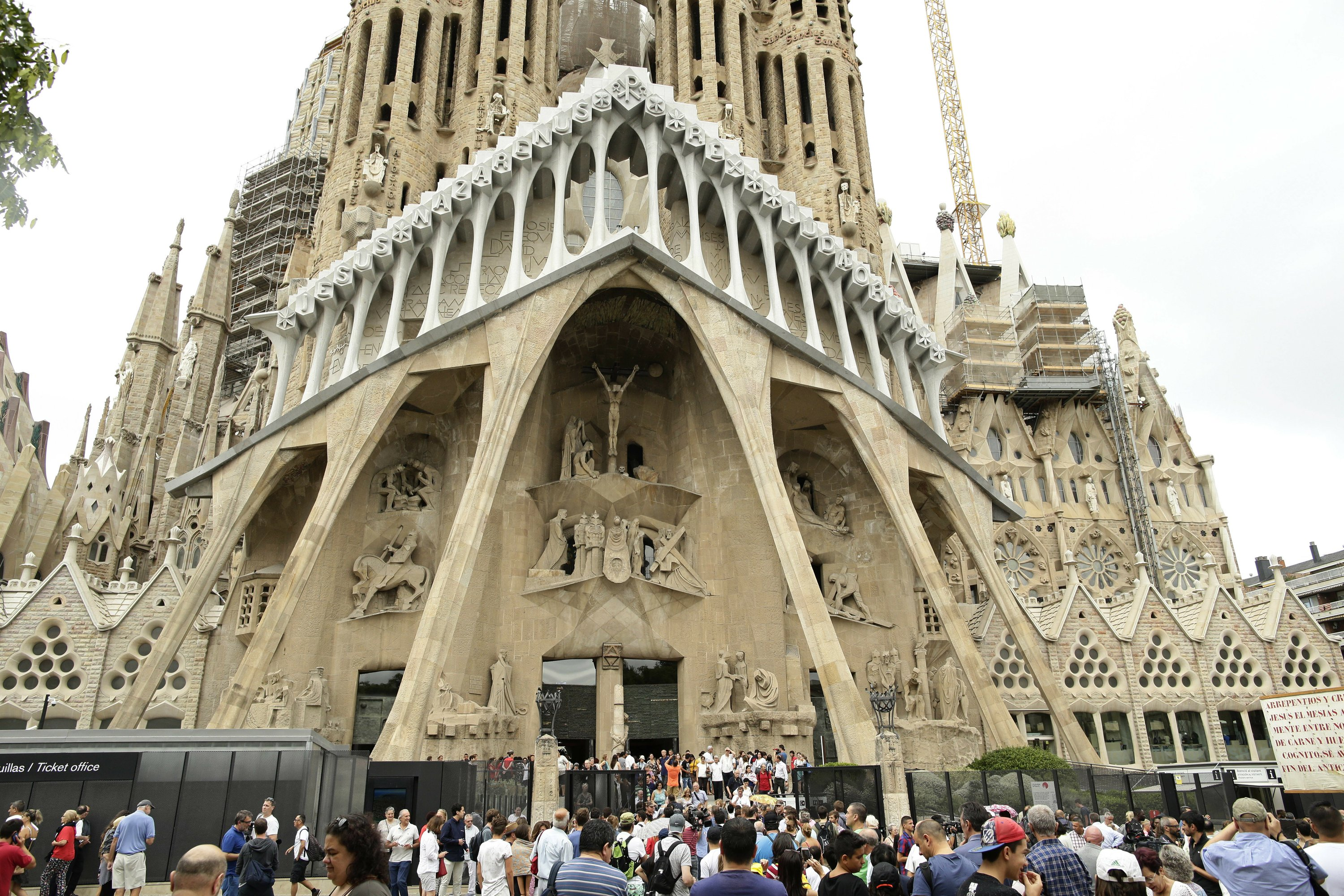 Spain Unfinished Gaudi Church Gets Permit After 137 Years