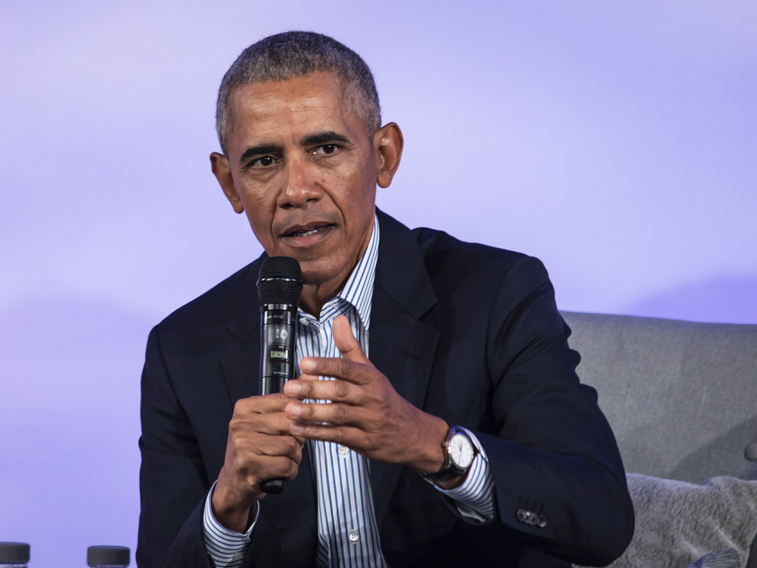 Obama talks climate change, inequality at green conference - Associated Press
