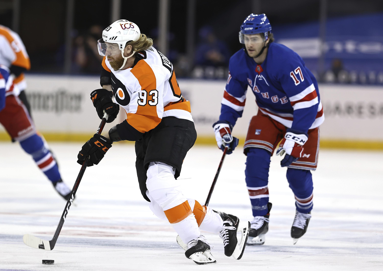 Voracek, van Riemsdyk lead Flyers past Rangers, 3-2