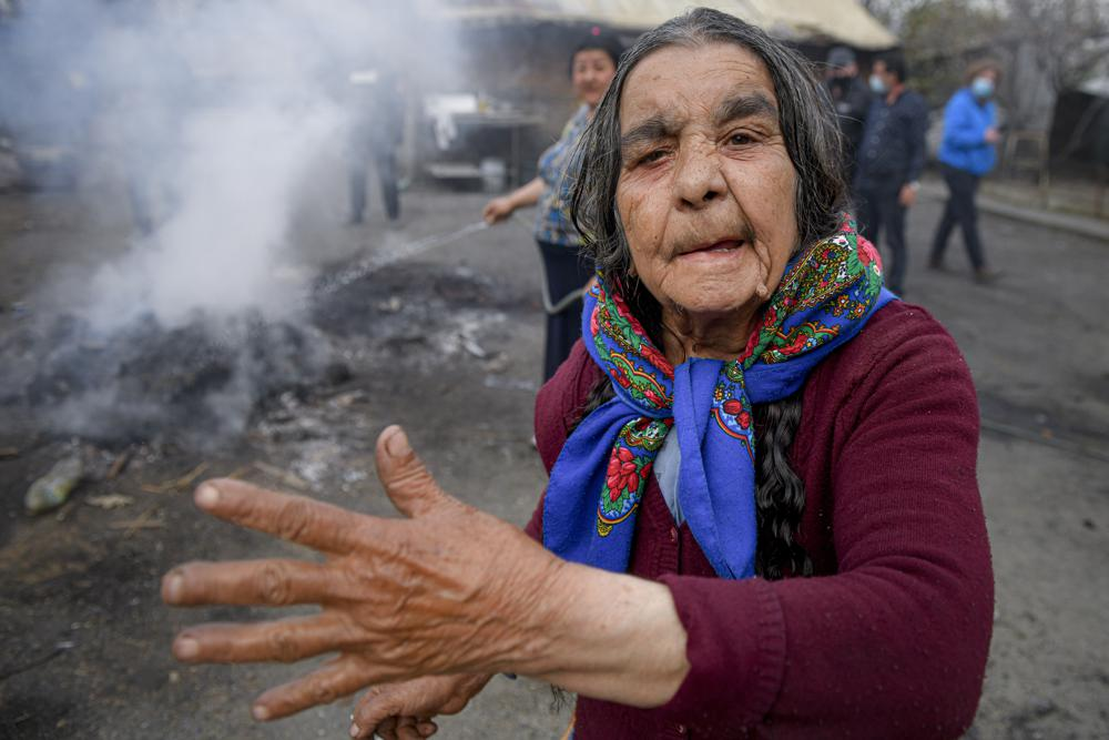 In Romania, burning metal the only means of survival for many