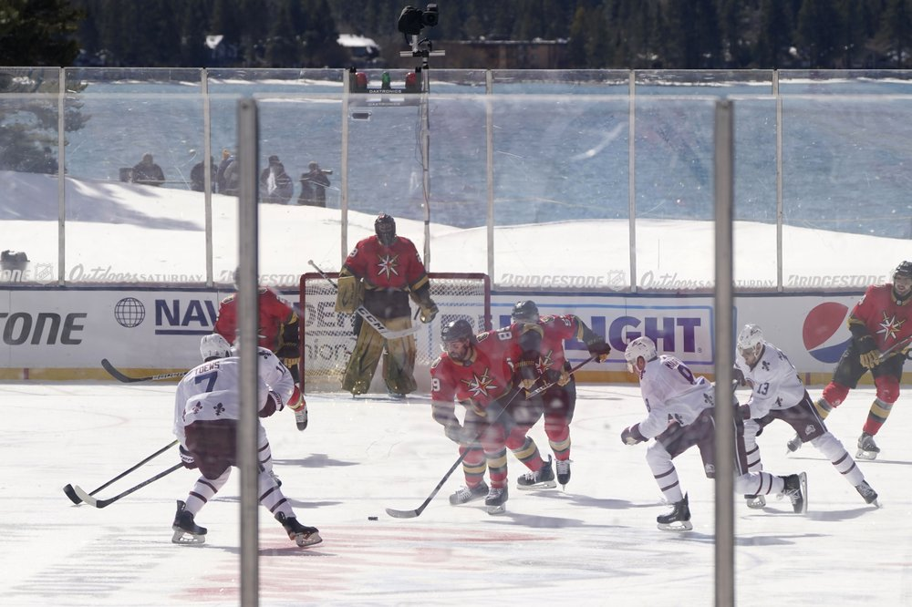 Despite delayed Lake Tahoe game, Avs beat Golden Knights 3-2
