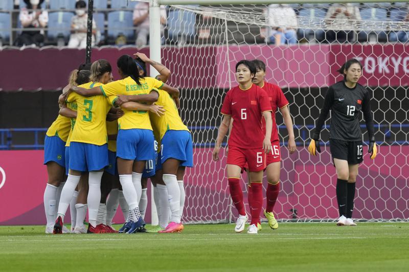 Ladies football brazilian When 7