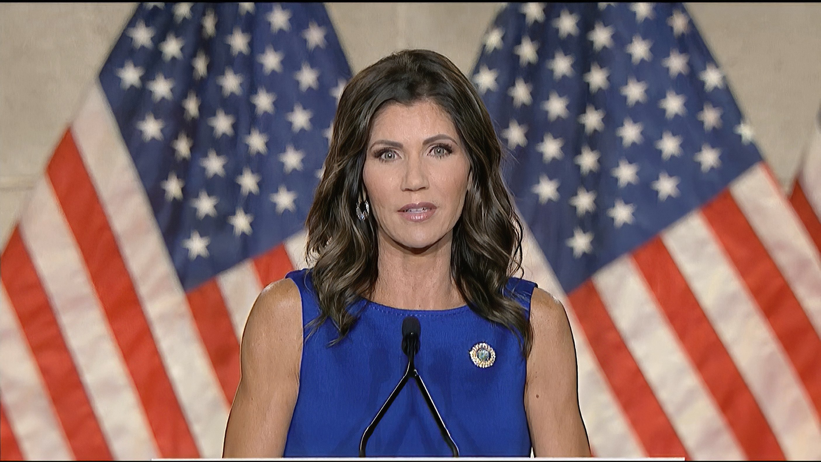 Noem's pitch to aid Trump seems to benefit own campaign fund