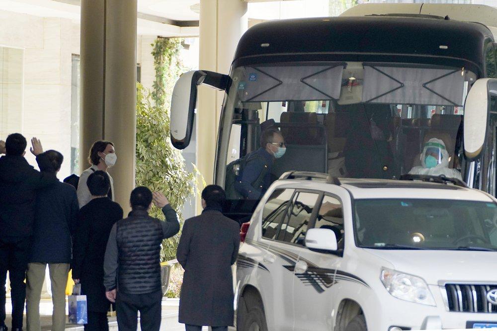 WHO team departs quarantine in Wuhan to start field work for coronavirus origin