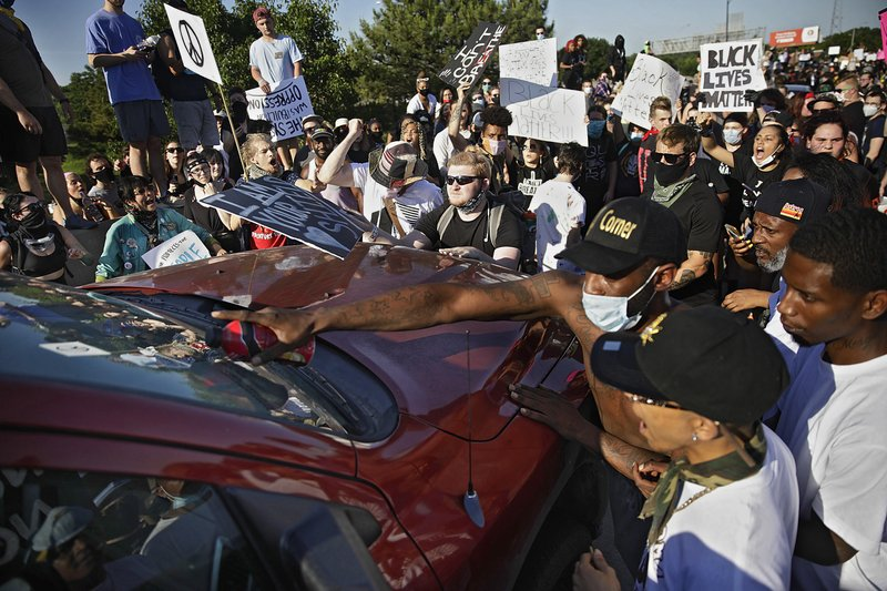 New legislation would protect drivers who hit protestors