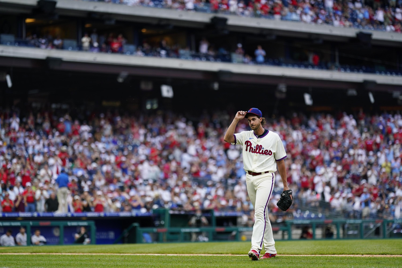Nola lifts Phillies back over .500, beats reeling Yanks 7-0