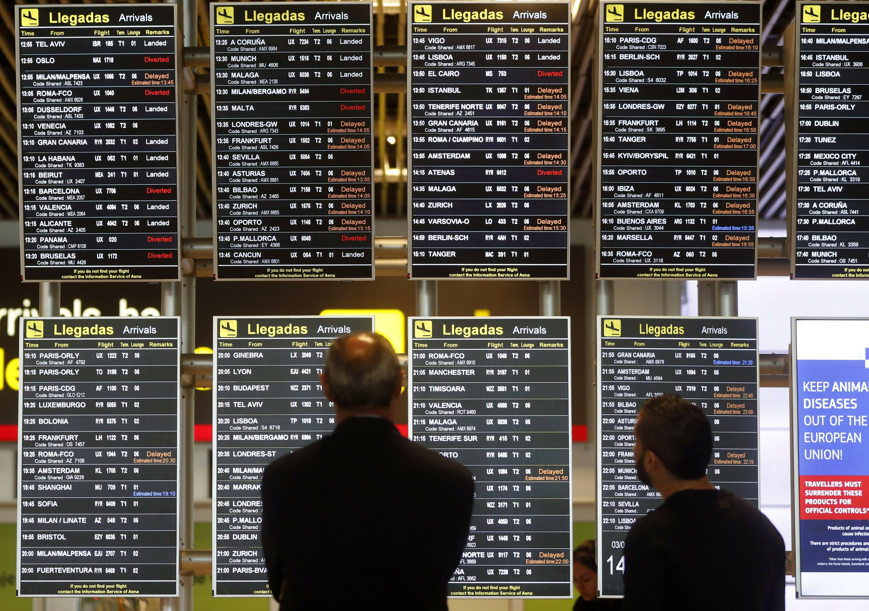 Drone sighting disrupts air traffic at Madrid airport