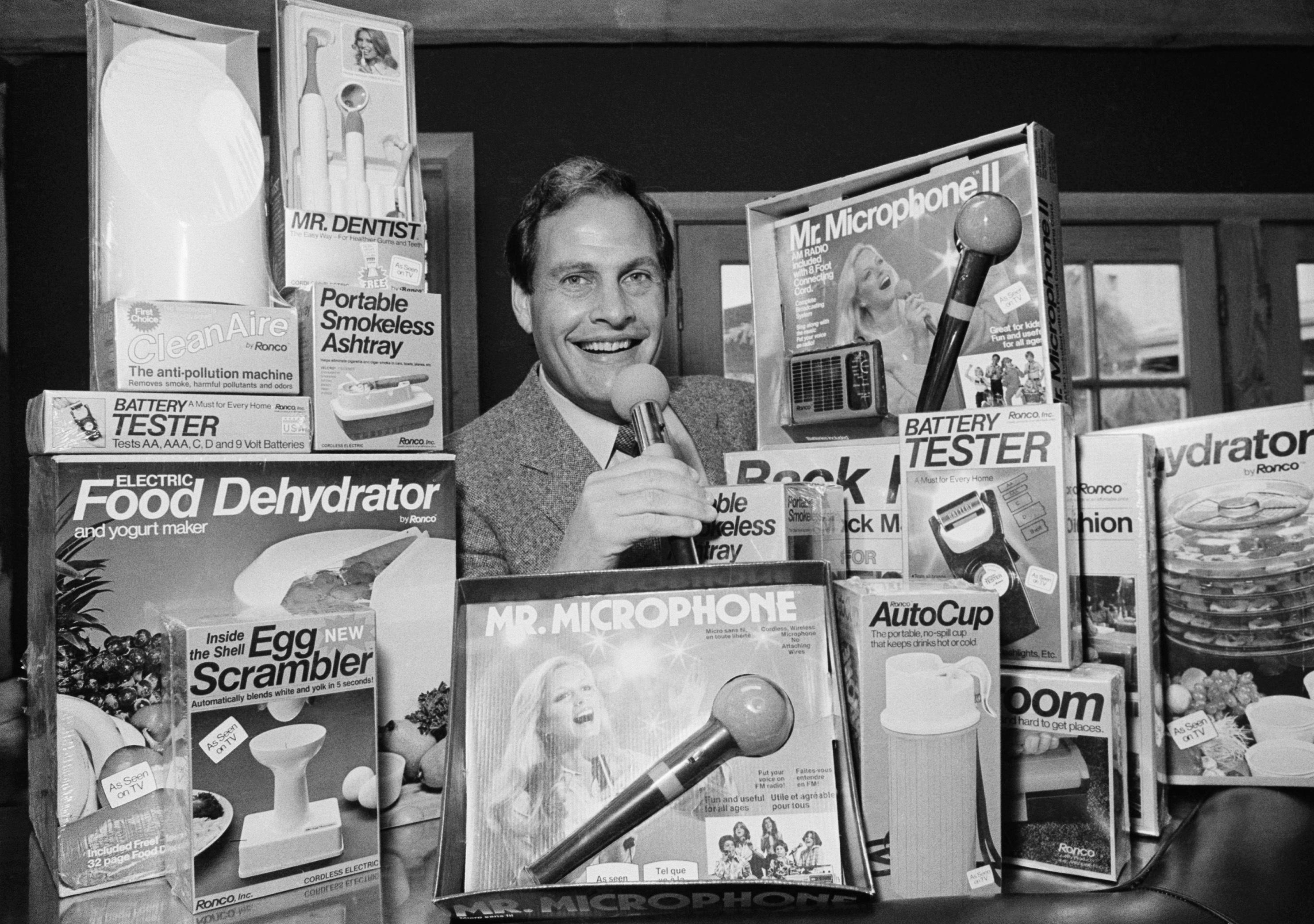 Ron Popeil, inventor and king of TV pitchmen, dies at 86 – Associated Press