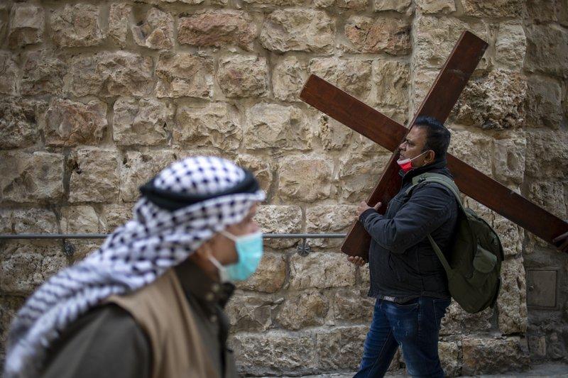 Christians mark Good Friday, Holy Week under virus woes