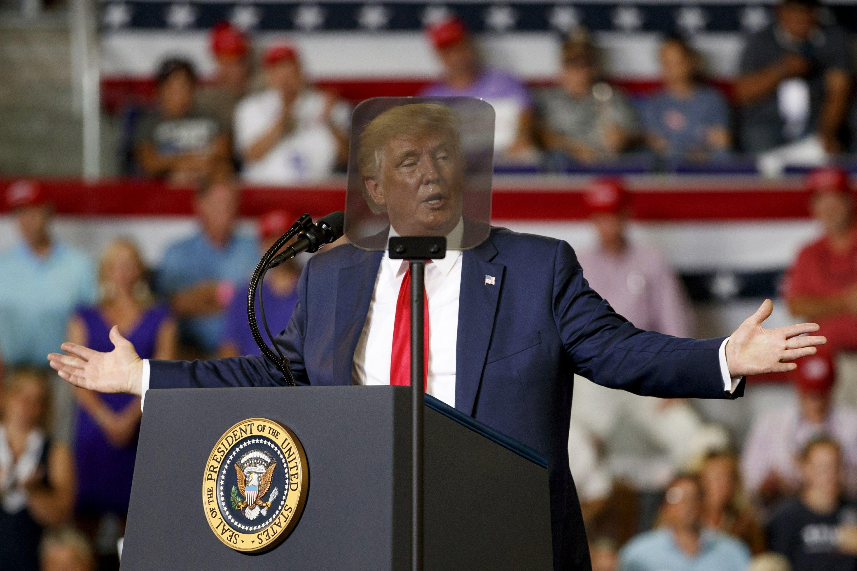 Trump says critics hate America, despite his own US putdowns