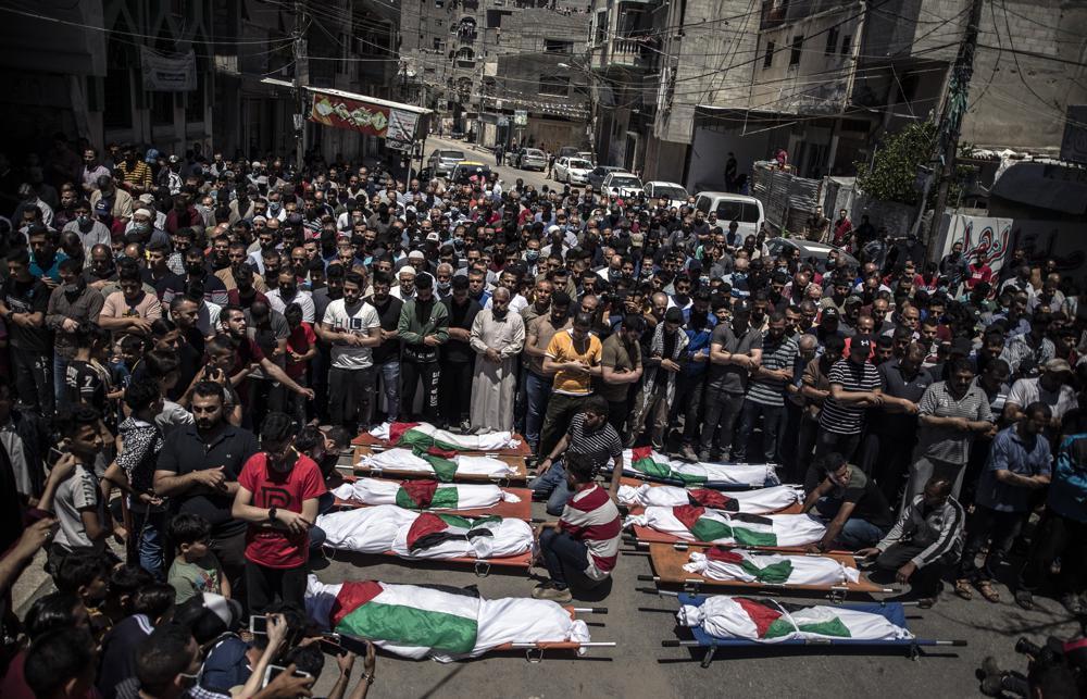 Israel Strikes Gaza Home of Hamas Leader