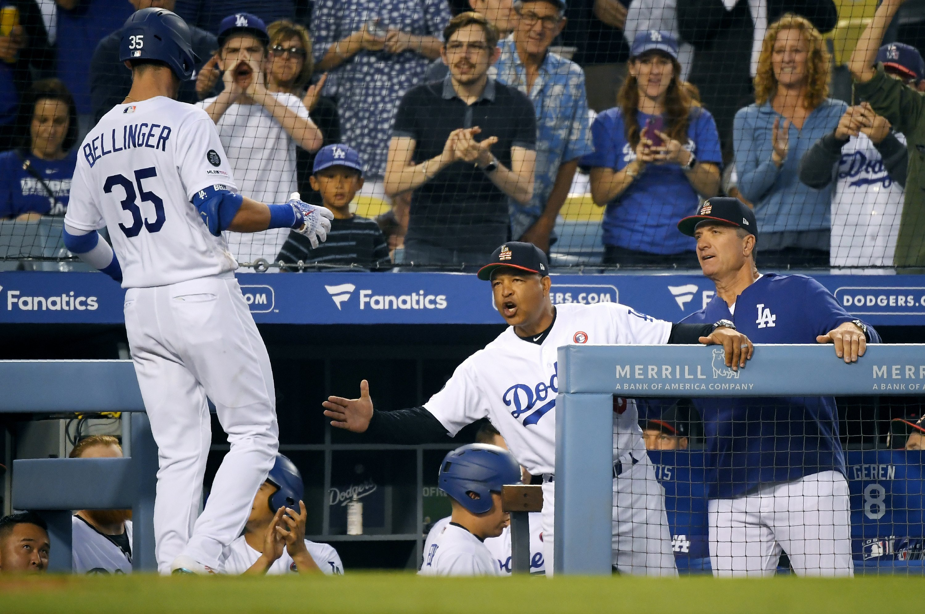 Ryu dominates, Bellinger homers and Dodgers beat Padres 5-1