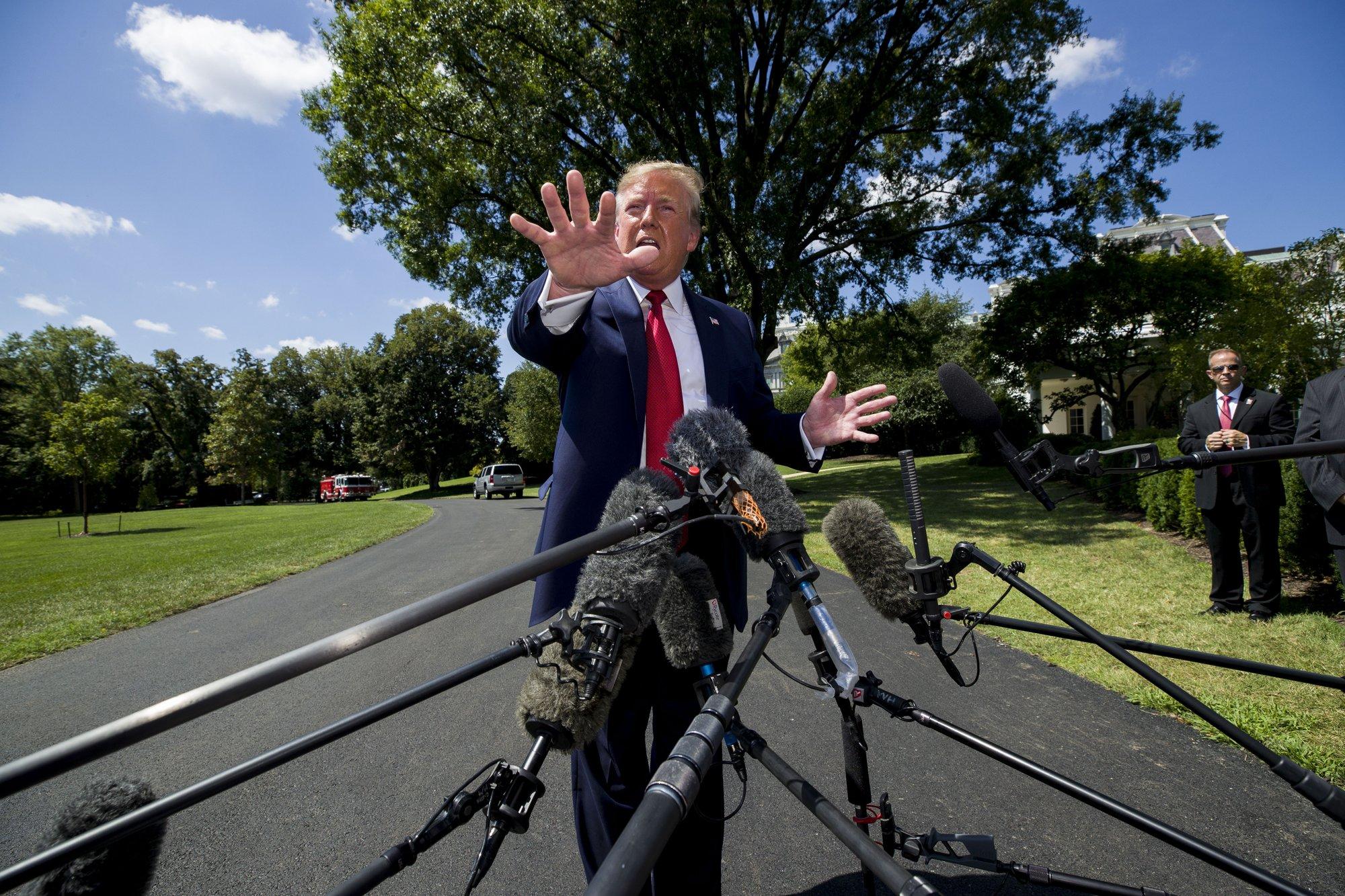 AP Analysis: Trump's 'disloyal' jab may boost base, not Jews