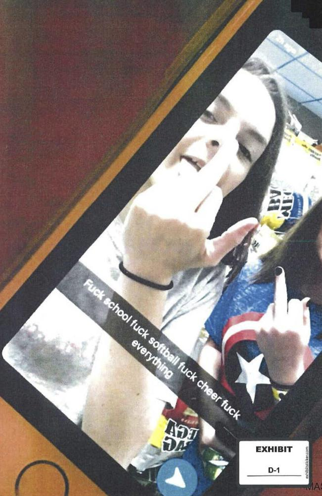 Fourteen-year-old's profanity-laced posting on Snapchat ends up before the Supreme Court