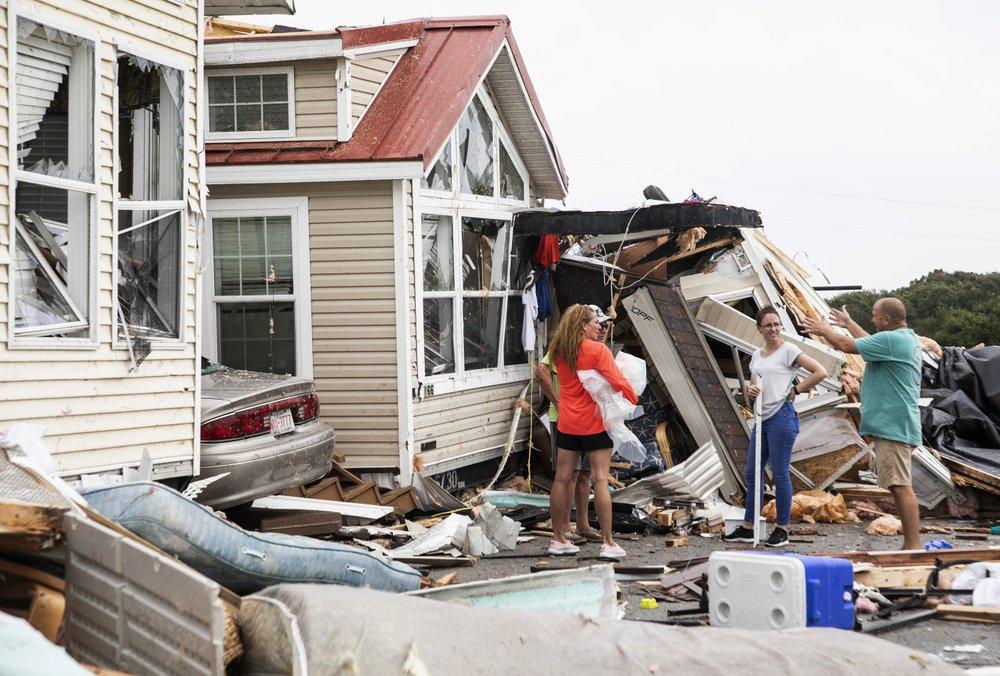 Trump's won't let Alabama hurricane prediction go | Bahamas sent humanitarian support as death toll reaches 30