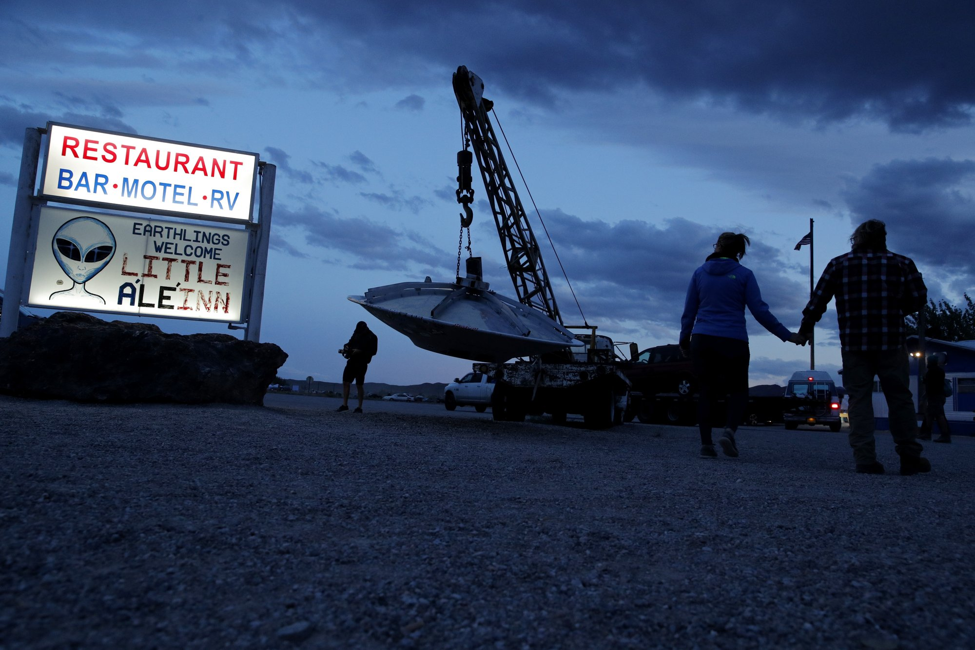 Music starts for Earthlings around Area 51 events in Nevada