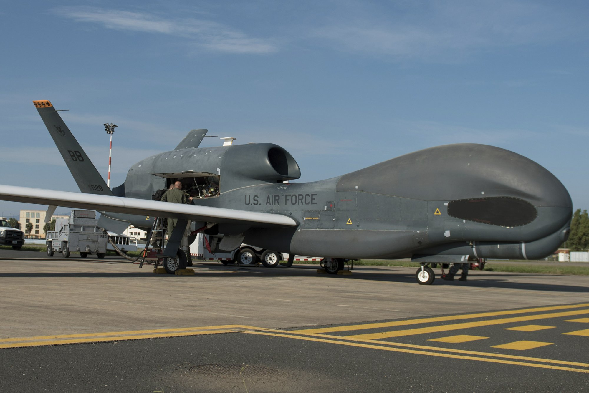 Iran shoots down US surveillance drone, heightening tensions
