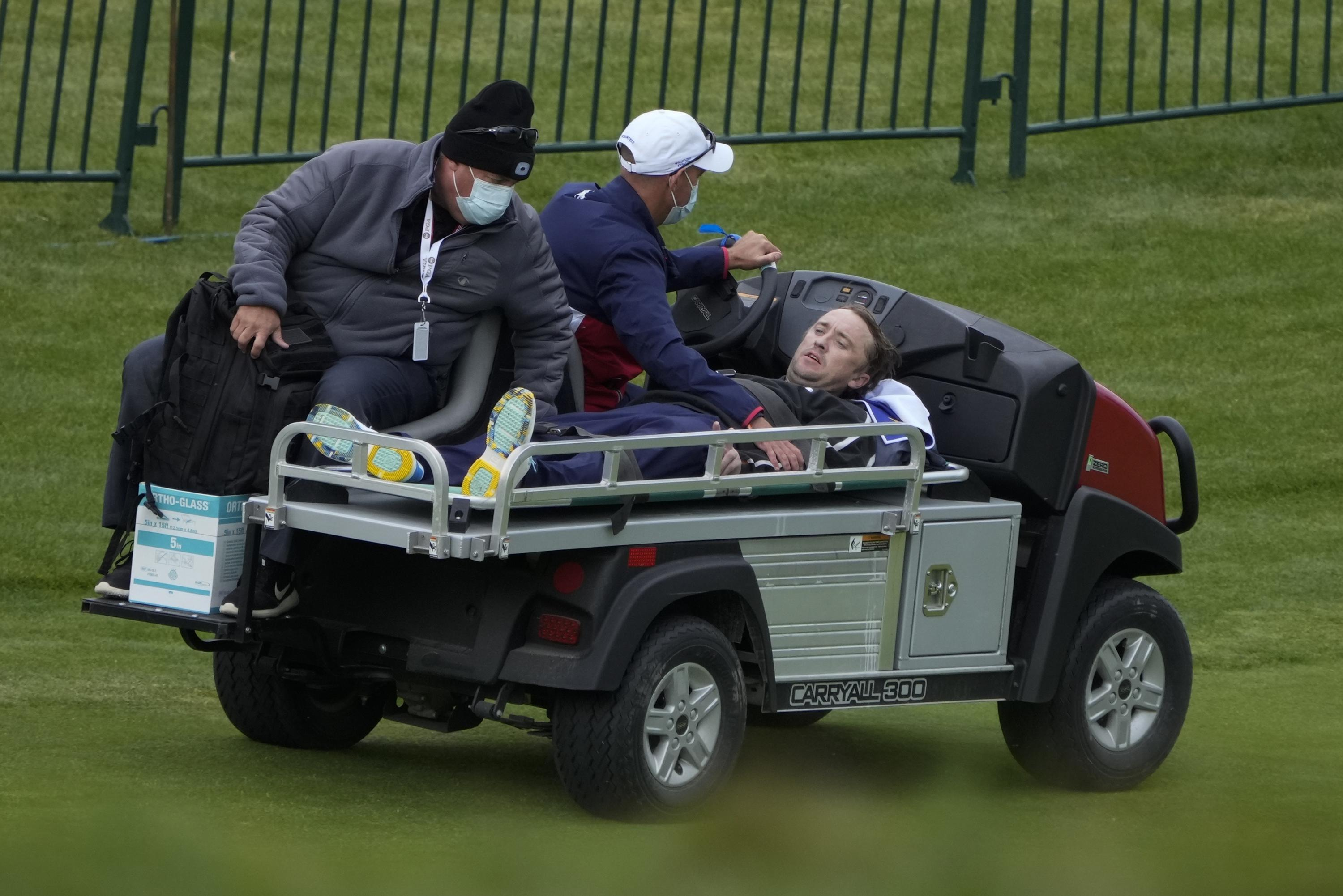 Tom Felton of 'Harry Potter' fame collapses at Ryder Cup - Associated Press