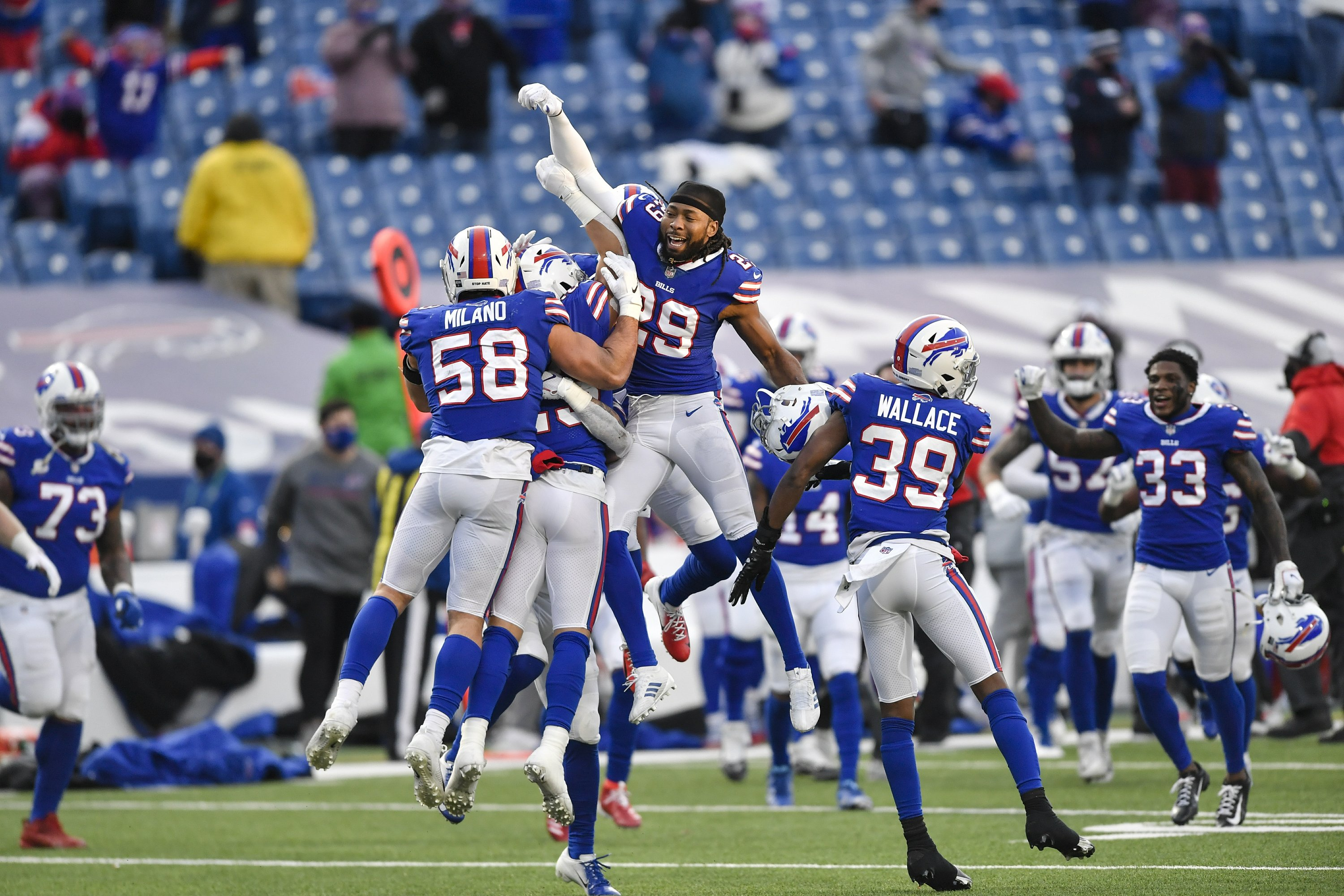 Bills Bend But Don T Break Defense To Be Tested By Ravens