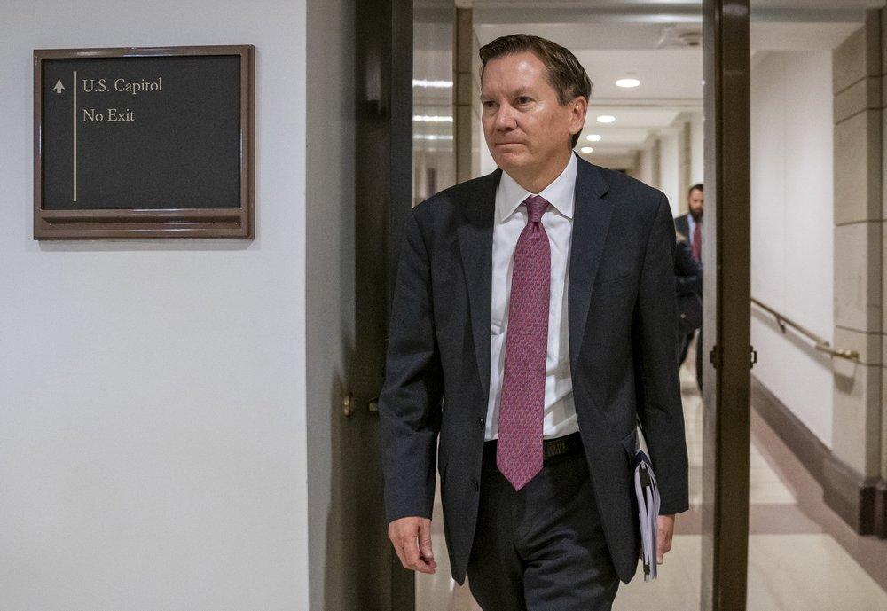 Trump calls fired watchdog in impeachment probe a 'disgrace'