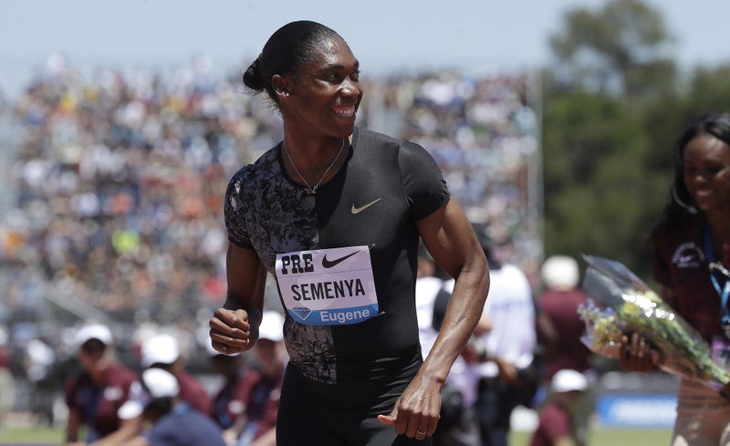 "Caster Semenya taking case of ""discriminatory"" rules to European Court of Human Rights"