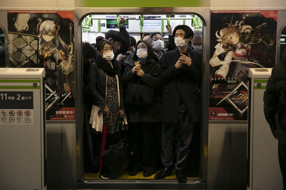 Masks, disinfectant–the new normal for commuters