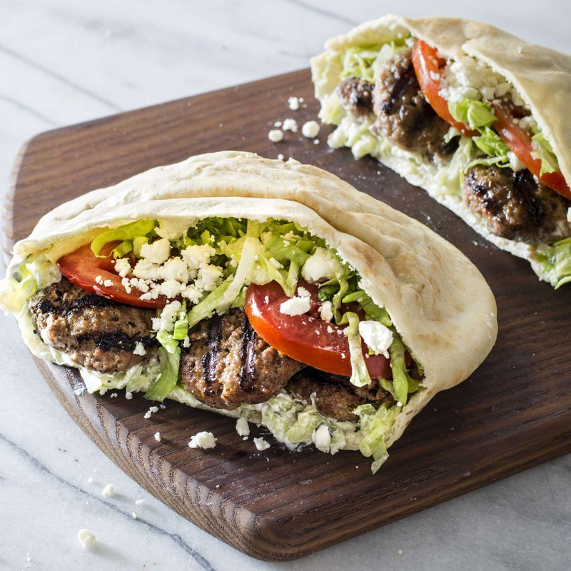 Dive Into A Greek Gyro With Lamb And Yogurt Sauce In A Pita,Gas Grills Parts