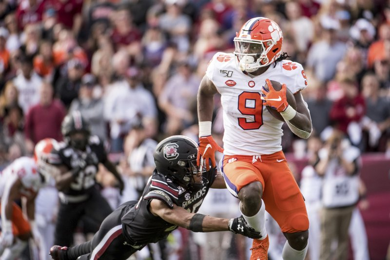 Clemson Has 16 Players Picked To All Acc Football Teams