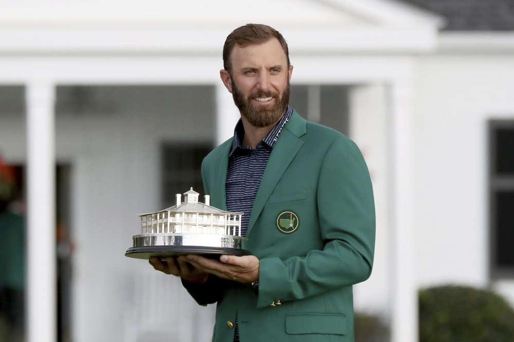 Dustin Johnson's dream of winning the Masters finally becomes a reality