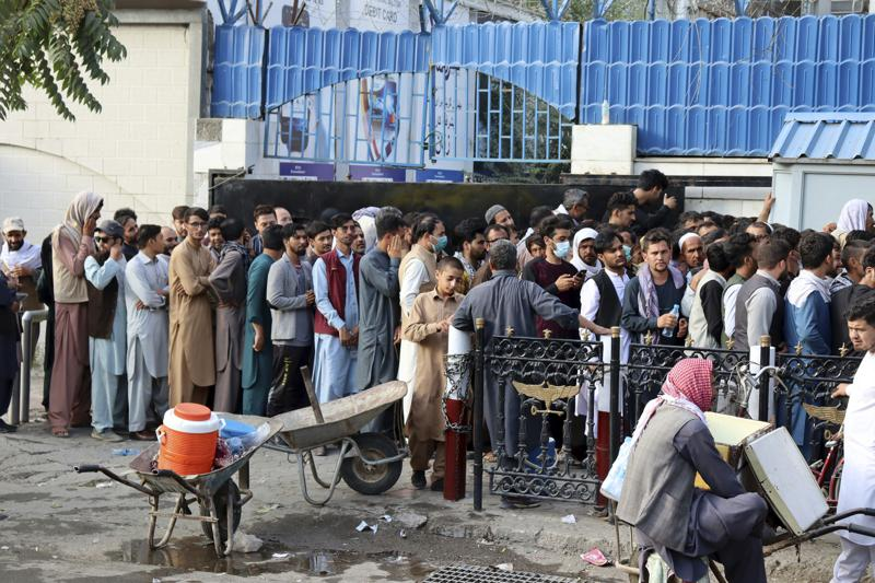 In Kabul, Some Fear Economic Collapse More Than Taliban Fist