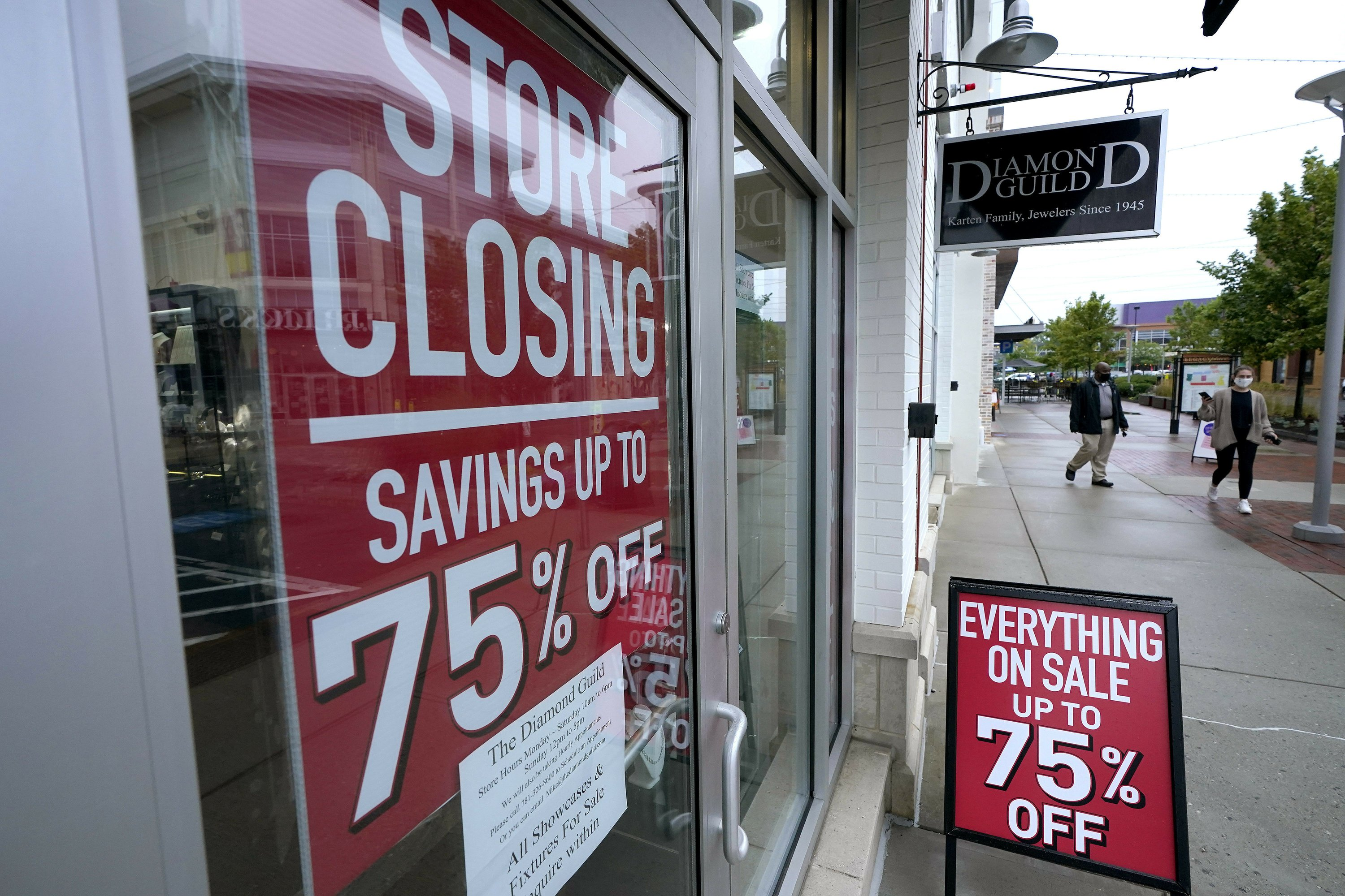 31.4% spring slide for a US economy likely to shrink in 2020 - The Associated Press thumbnail