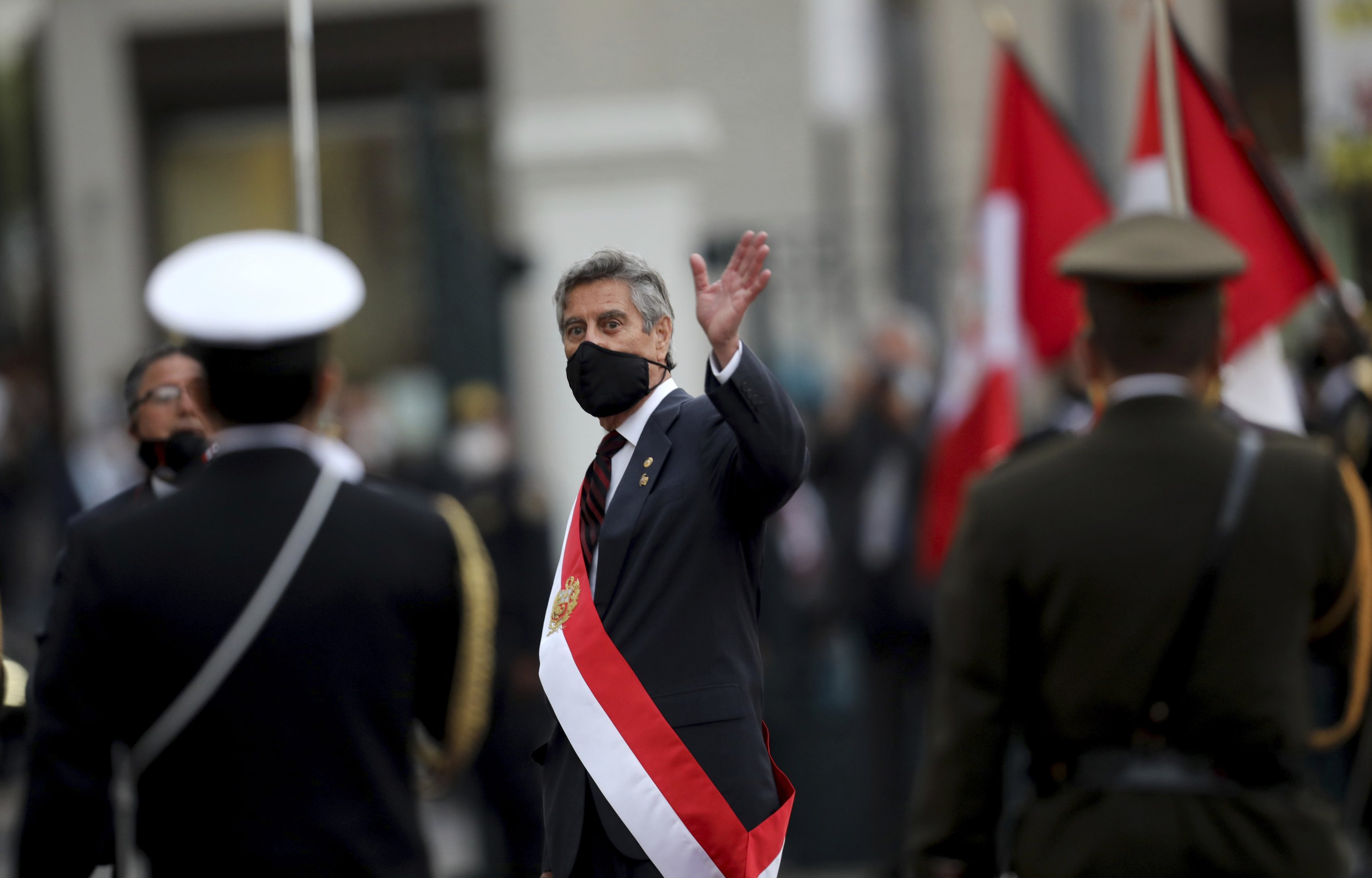 Peruvians get 3rd president in a week amid cautious hopes – The Associated Press