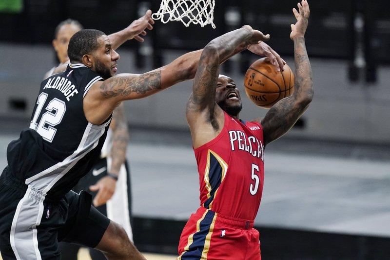 LaMarcus Aldridge has played his final game for the San Antonio Spurs