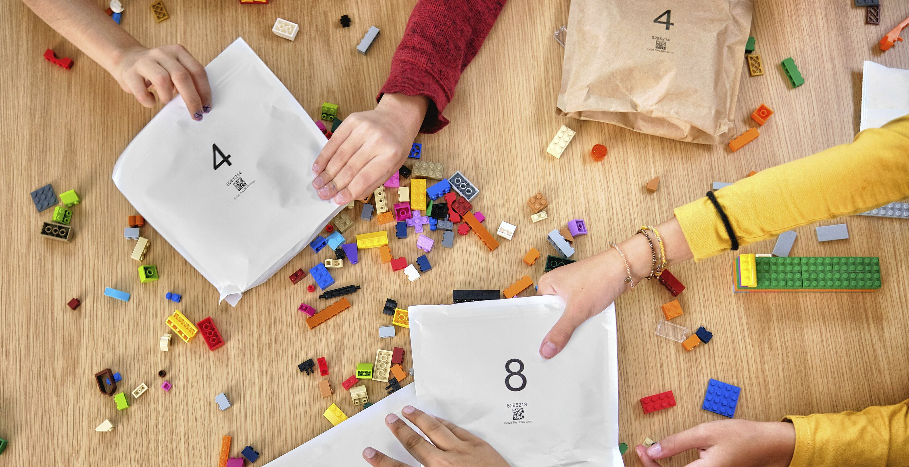 Lego to ditch plastic bags for paper ones in its boxed sets  image