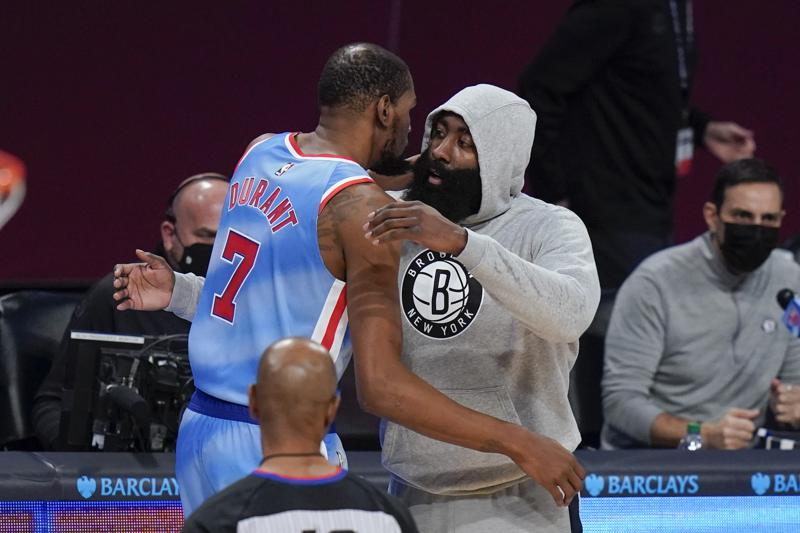 Nets' Big Three — Kevin Durant, Kyrie Irving, James Harden — Expected to Play Saturday