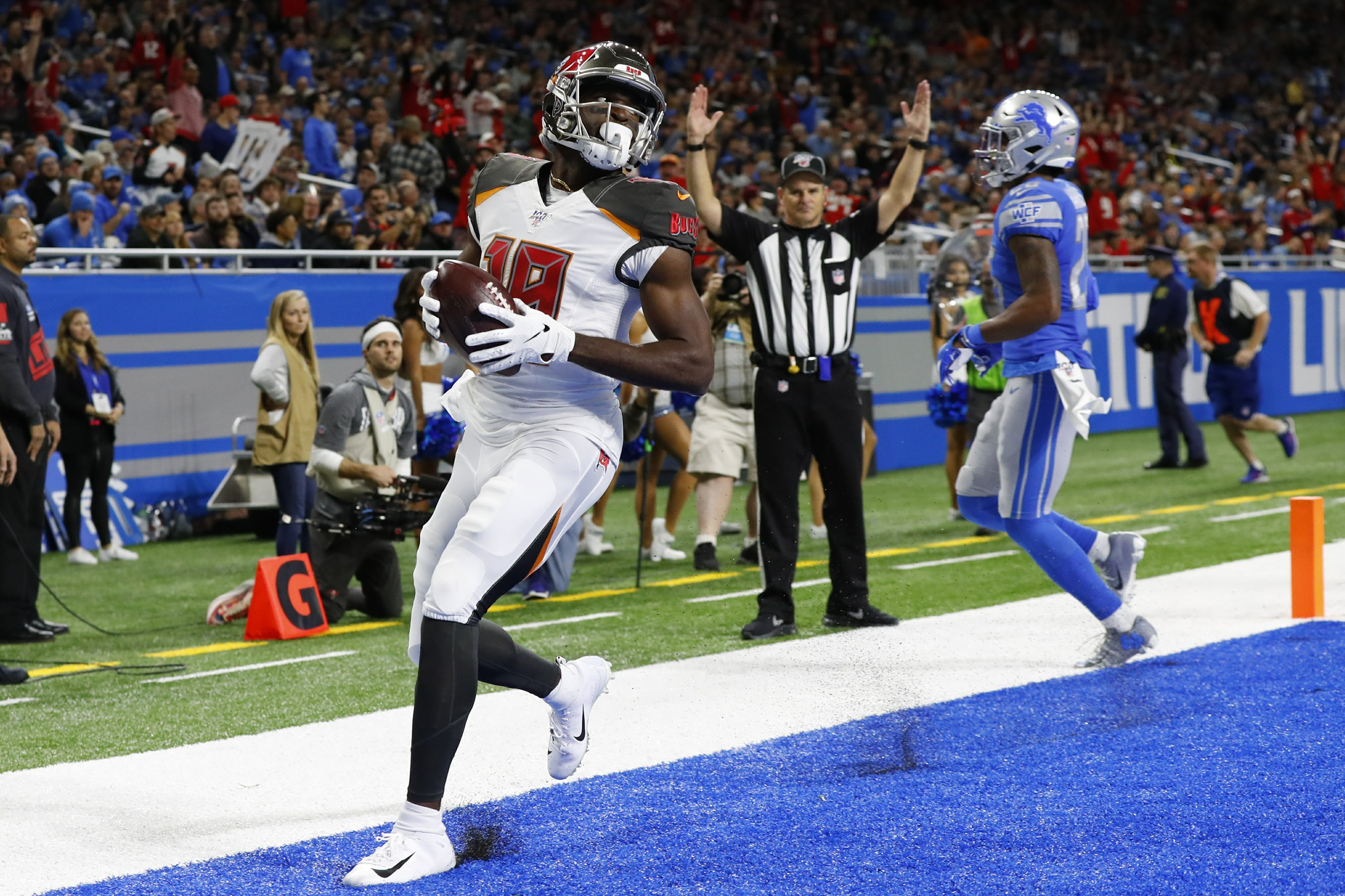 Lions Lose 7th Straight Amid Dreary Home Atmosphere