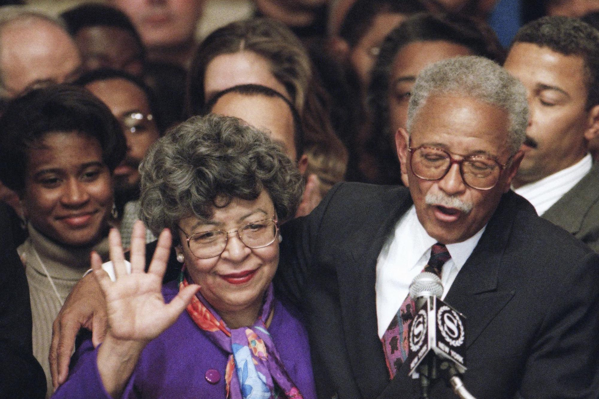 joyce dinkins wife of former nyc mayor david dinkins dies ap news