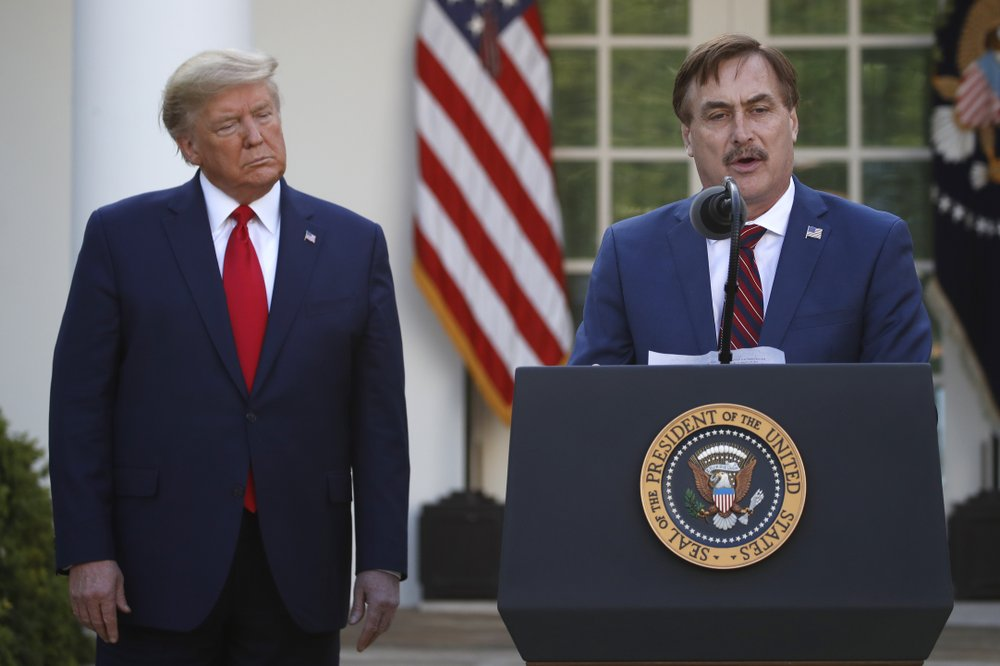 Promise of an endorsement.from Trump pushes MyPillow Guy